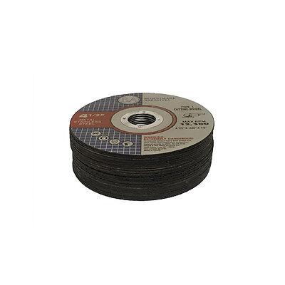 "Superior Cutting Tools 4.5/"" x 0.09/"" x 7//8/"" x 10mm Cutting Disc /""Lot of 5 Discs/"""