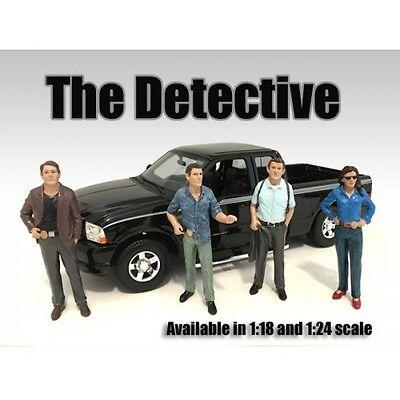Detective I (AD-23891) - 1/18 scale figure/figurine - AMERICAN DIORAMA