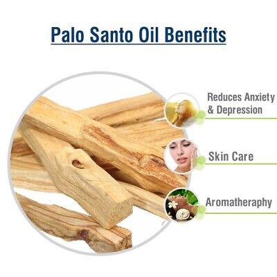 Palo Santo Oil (Bursera graveolens) 100% Natural Pure Essential Oil 3