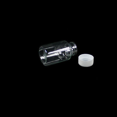 5PCS 100ML Clear plastic seal vials medicine sample container bottle with lid 2