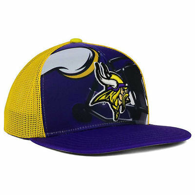7df2cadd MINNESOTA VIKINGS OUTERSTUFF NFL Youth Stealth Snapback Cap Hat Team  Headwear MN