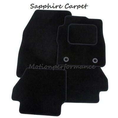 Tailored Car Floor Mats Standard Black Carpet 83-93 Vauxhall Nova