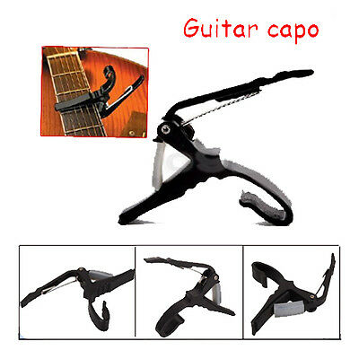 Quick Change Grain Clamp Key Capo Spring for Acoustic Electric Guitar Bass 3