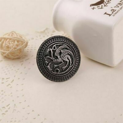Game Of Thrones Targaryen Dragon Shield Collectible House Crest Badge Gift Box 7