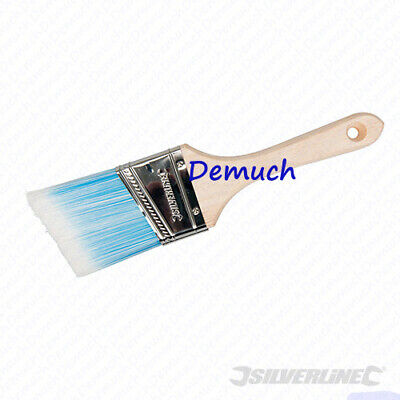 Silverline Extra Long Awkward Reach Angled Head Paint Brush 440mm//38mm Long 13a