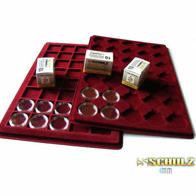 (ProSchulz) Coin Capsules ALL INTERNAL SIZES 14 mm to 42mm  x 10, 30, 50, 100pcs 8