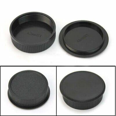 42mm Plastic Body & Rear Cap Cover For M42 Digital Camera Body and Lens Black 2