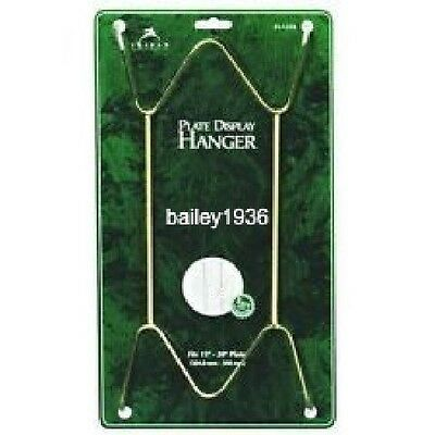 Deluxe Large Heavy Duty Brass Hangers Plates Platters Tiles 3 Sizes Super Strong