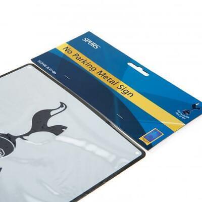 Tottenham Hotspur No Parking Sign Enamel Metal Official Spurs Football Crest FC 2