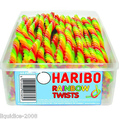 1 X Full Tub Haribo Sweets Candy Children's School Bags Treat Sweet Gift Party 5