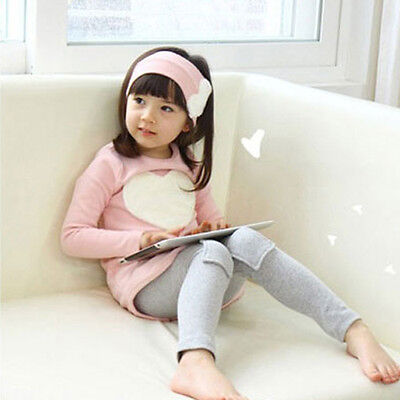 Ragazze Fascia +T-Shirt SET Bimbi Bambini Koreana Vestiti Manica Lunga Camicie 6