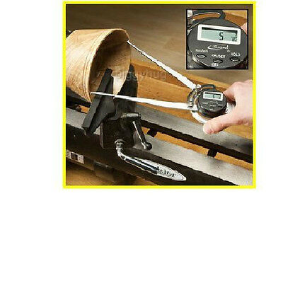 """iGaging 8/"""" outside caliper spring loaded electronic digital LCD lithium battery"""