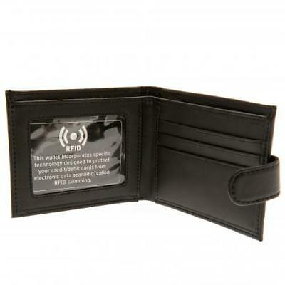 Arsenal F.C. RFID Anti Fraud Wallet ( Real Leather ) Debossed Crest 4