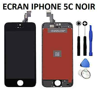 VITRE TACTILE IPHONE 5S / 5C / 5 / 5 SE + ECRAN LCD SUR CHASSIS Grade AAA + FILM 4
