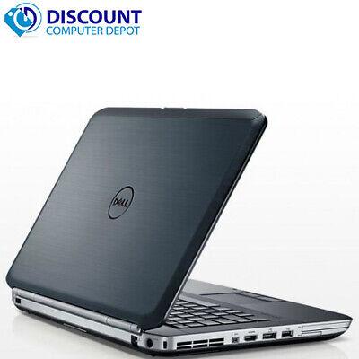 Dell Laptop i5 Computer Latitude PC Windows 10 2.5GHz 4GB 320GB HD HDMI Wifi 3