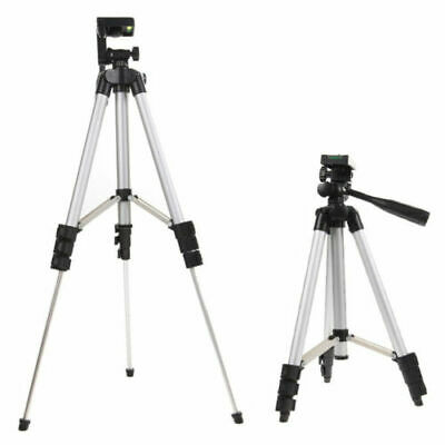 Professional Portable Aluminium Camera Tripod Stand For iPhone DSLR Camcorder 2