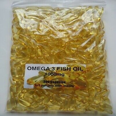 The Vitamin Omega 3 Fish Oil 1000mg 1080 Capsules Buy in Bulk - Bagged 2
