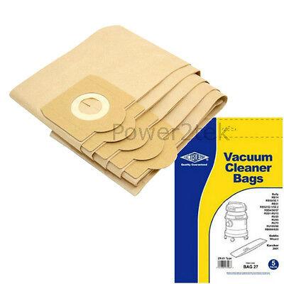 5 x ZR81 Vacuum Bags for Rowenta RU106 RU11 RU110 Hoover NEW