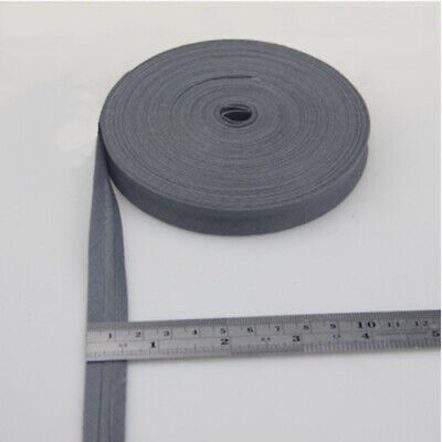 100% Cotton Bias Binding Tape Folded 16mm Wide 5/8 Inch Trimming/Edging/Quilting 4
