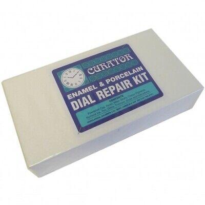 Curator Enamel and Porcelain Clock Dial Repair Kit Dial Restoration - HE15 3