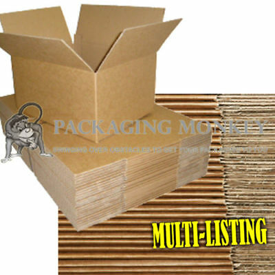 Quality Single Wall Postal Mailing Cardboard Boxes 2
