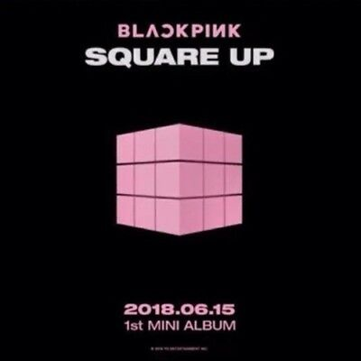 BLACKPINK-[Square Up]1st Mini Album Black CD+Book+Lyrics+Selfie+Card+Gift 4