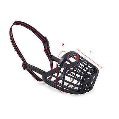 Ancol Plastic Dog Muzzle Strong Basket Style - Sizes 1 2 3 4 5 6 7 8 9 2
