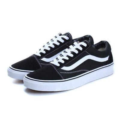MENS WOMENS VAN Classic OLD SKOOL Low Top Casual Canvas sneakers Shoes 5