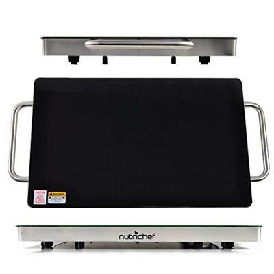 NutriChef Plug-In Food Warming Tray PKWTR45 3