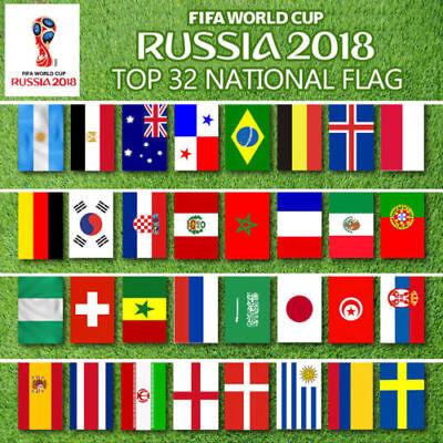 Angebot Wm 2018 Fifa Fussball Flaggen Fahnenkette