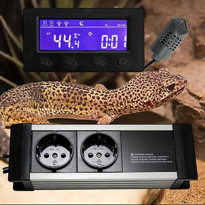 Hygrostat Be-/entfeuchter Zeitschaltuhr Alarm Terrarium *display-Extern* Txg 3