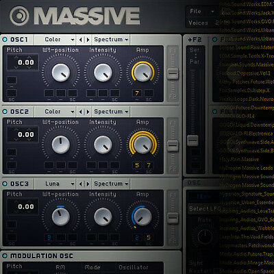 SYLENTH, SERUM, MASSIVE Bundle - Studio Producer Soundbank Library Archives