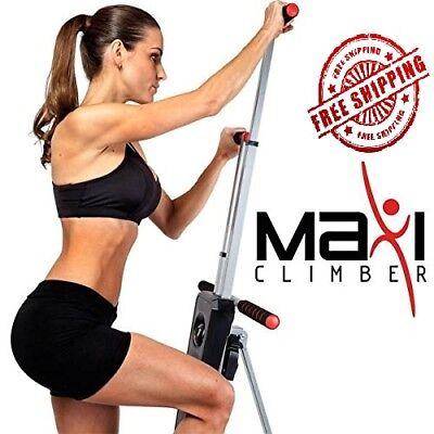 Maxi Climber Vertical Climber w Monitor, Diet Menu, Exercise Manual 4