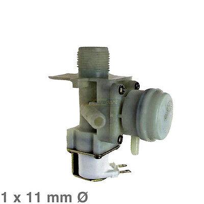 Ventil Magnetventil 1fach 90° 11mmØ Geschirrspüler wie Electrolux AEG 1520233006