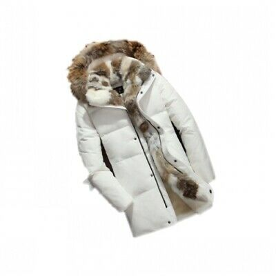 Chic Men/'s Warm Soft Faux Fur Jacket Hooded Coat Winter Short Outwear HOT T924