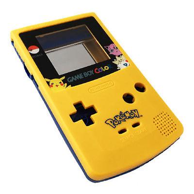 GBC Nintendo Game Boy Color Housing Shell LIMITED EDITION Pokemon Pikachu USA! 2