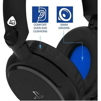 PS4 Gaming Chat Headset with Mic Officially Licensed PRO4-50s PlayStation 4 NEW 5