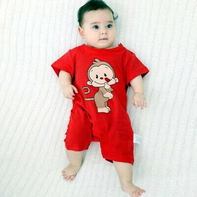Newborn Infant Baby Boy Girl Kids Cotton Romper Jumpsuit Bodysuit Clothes Outfit 5