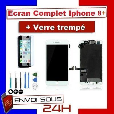 BLOC COMPLET VITRE TACTILE ECRAN LCD IPHONE 6/6 plus/6s/6s+/7/7+/8/8+ NOIR/BLANC 7