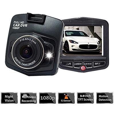 1080P HD Night Vision Car Camera Video Recorder Vehicle Dash Cam DVR G Sensor 2