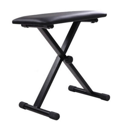 Adjustable 3 Way Folding Keyboard Piano Stool Bench Seat Chair POST FROM SYD 2