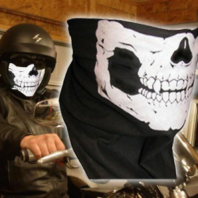 Skeleton Skull Face Mask Bandana for cycling dirt bike motorbike Riding Skiing