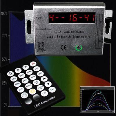 LED-AQUARIUMLEUCHTE LAMPE PowerLED 30cm SIMULATION TAGES-/MONDLICHT HQI T8 AB7 4