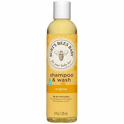 Shampoo and Wash Baby Bee No Tears Burts Bees Original 99.9% Natural 235 ml 10