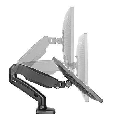 Monitor Gasdruck Tisch Halterung 1 x 6,5 kg bis 27 Zoll Office-GS212