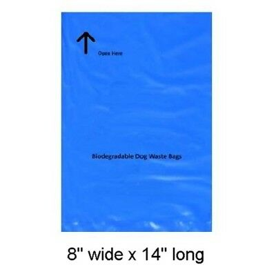 """Canine Poop Bags 2000 Thick Biodegradable Doggie Pet Waste Collection 8X14"""" #13 2"""