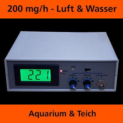 Kombigerät Ozonisator Wasseraufbereitung Generator M. Redoxcontroller Orp/ph Oz9 3