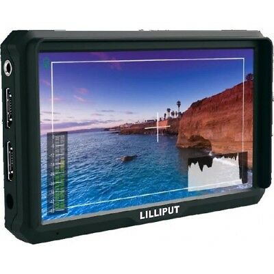 "Lilliput A5 5"" Camera-Top Broadcast Monitor 4K HDMI 1920x1080 for HDMI out DSLR 2"