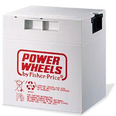 New Barbie Jammin Jeep Replacement Battery Power Wheels 12 Volt Mattel 2
