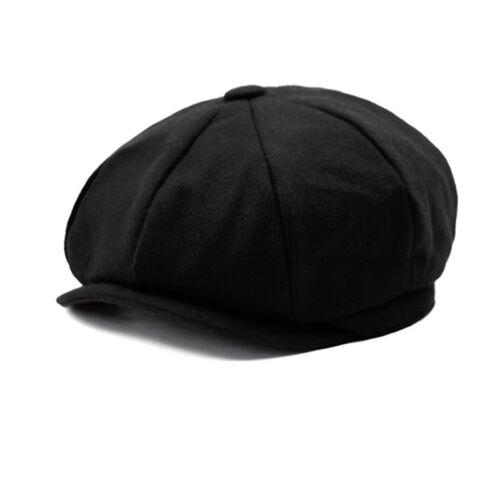 257506675103c Gatsby Newsboy Cap Mens Wool Ivy Hat Golf Driving Flat Cabbie Winter Warm  Hats 8 8 of 11 ...